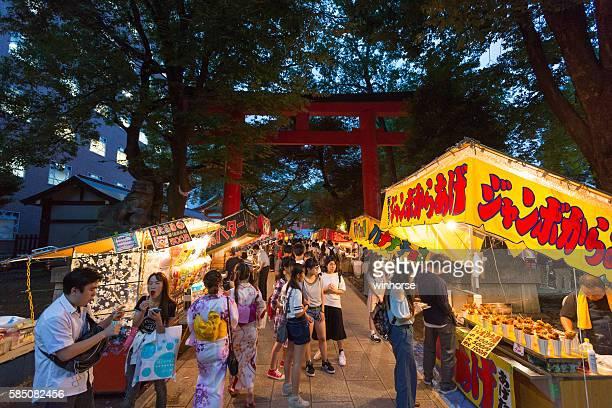 Summer Festival in Tokyo, Japan