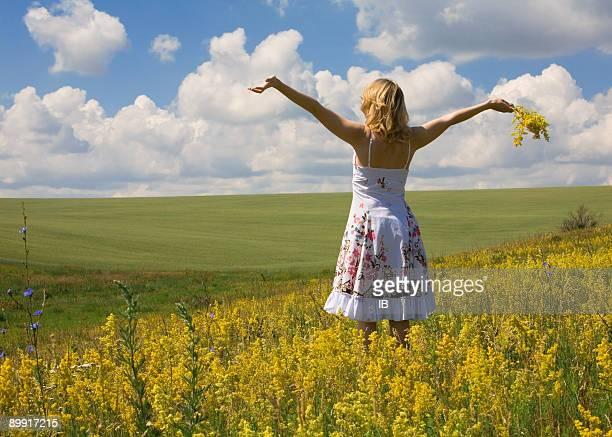 夏ます。自由です。