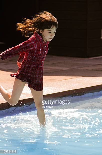 Summer Fun (Jumping into the water)