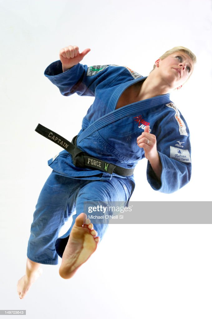Olympic athlete in Judo, <a gi-track='captionPersonalityLinkClicked' href=/galleries/search?phrase=Kayla+Harrison&family=editorial&specificpeople=7179048 ng-click='$event.stopPropagation()'>Kayla Harrison</a> poses for the Sports Illustrated Summer 2012 Olympic portfolio on May 13, 2012 in Dallas, Texas.