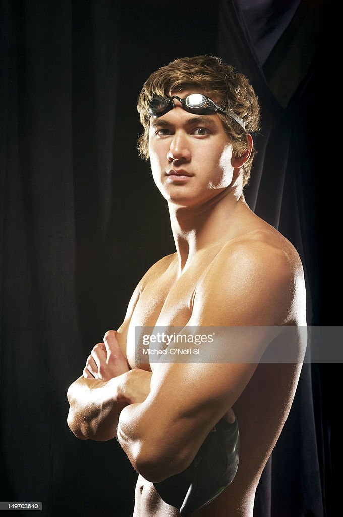 Swimmer Nathan Adrian poses for the Sports Illustrated Summer 2012 Olympic portfolio on May 13, 2012 in Dallas, Texas.