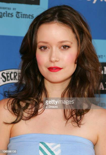 Summer Glau during 2006 Los Angeles Film Festival 'Who Killed The Electric Car' Screening and 'Green Day' Fair at Westwood in Westwood California...