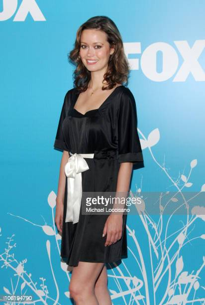 Summer Glau during The 2007/2008 Fox Upfronts Arrivals at Wollman Rink Central Park in New York City New York United States