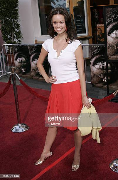 Summer Glau during 'The Skeleton Key' Los Angeles Premiere Arrivals at Universal City Walk in Universal City California United States