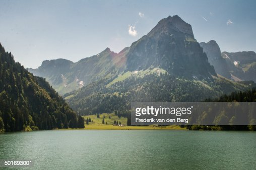 Summer Hiking Paradise at Obersee in Glarus, Switz
