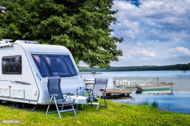 Summer holiday at the lake, Masuria, Poland