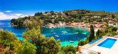 tranquill vacations in small beautiful Greek islands. Paxos (Ionian islands)