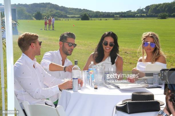 Summer House cast members attend the First Annual Polo Hamptons Match at Southampton Polo Club on June 24 2017 in New York City