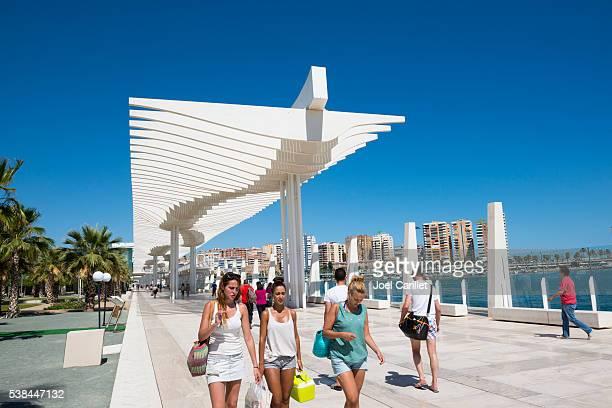 Summer in Malaga, Spain