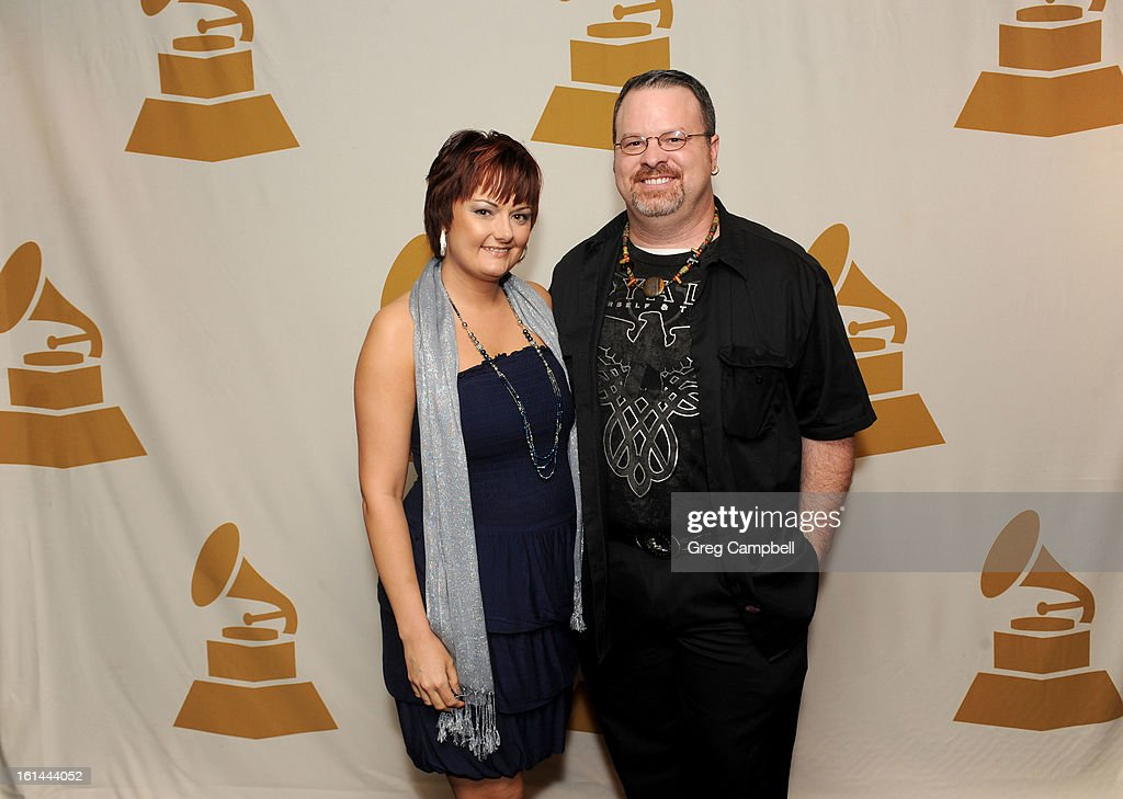 Summer Minshen and Chris Minshen attend the 55th Annual GRAMMY Awards Telecast Party at Hard Rock Cafe on February 10, 2013 in Chicago, Illinois.
