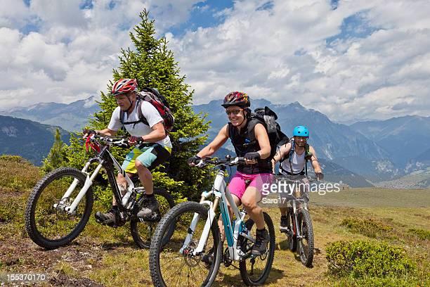 Sommer-mountainbiking in Südtirol