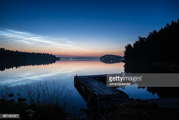 Summer Night in Stockholm Archipelago