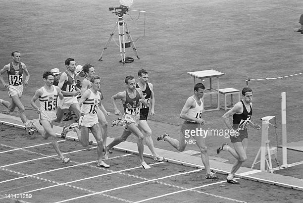 Track and Field runners during the 1964 Olympic Games held in Tokyo Japan Photo by NBCU Photo Bank