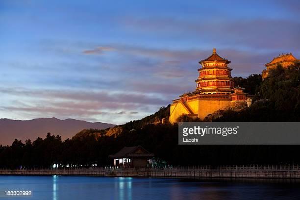 夏の宮殿の帝王北京中国