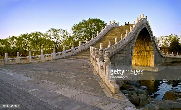 Summer Palace. Stone arch bridge