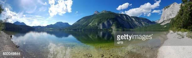 Sommer Panorama, Altausseer See, Österreich