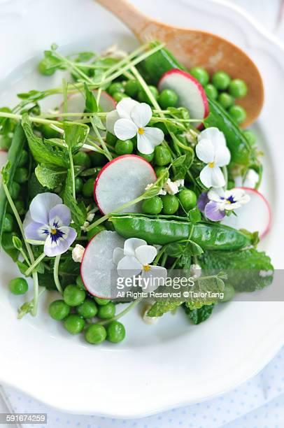 Summer Pea and Mint Salad