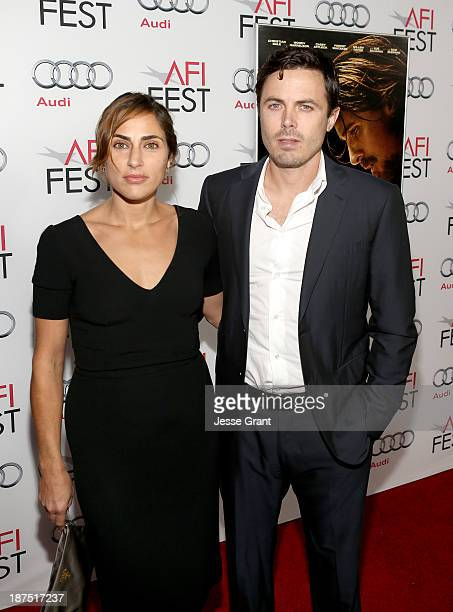 Summer Phoenix and actor Casey Affleck attend AFI FEST 2013 Presented By Audi 'Out Of The Furnace' Gala screening at TCL Chinese Theatre on November...
