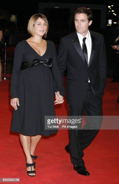 Summer Phoenix and Casey Affleck arrive for the premiere of 'The Assassination of Jesse James' premiere at the Venice Film Festival Italy Picture...