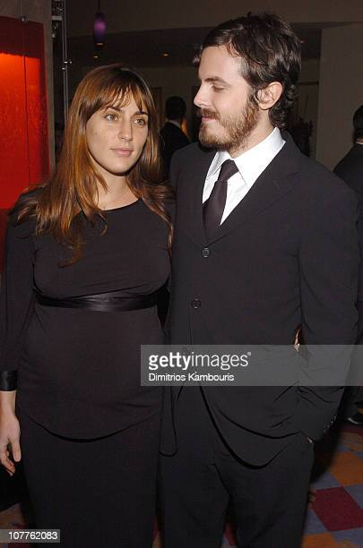 Summer Phoenix and Cassey Affleck during The 2004 New York Film Critics Circle 69th Annual Awards Dinner Inside Arrivals at Noche Restaurant in New...