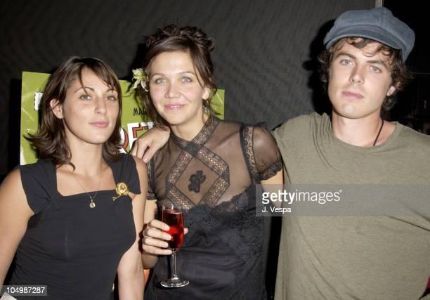 Summer Phoenix Maggie Gyllenhaal and Casey Affleck