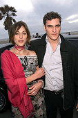 Summer Phoenix with her brother Joaquin Phoenix at the 2002 IFP/West Independent Spirit Awards at the beach in Santa Monica CA March 23 2002 Photo...
