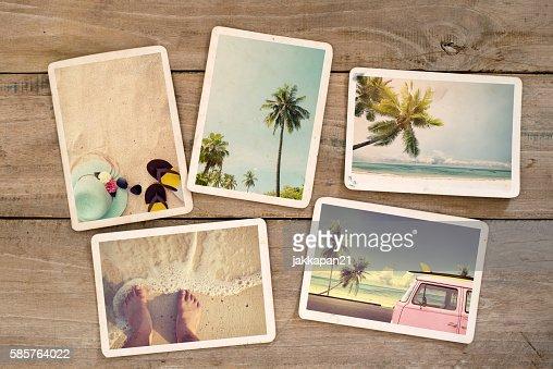 summer photo album : Stock Photo