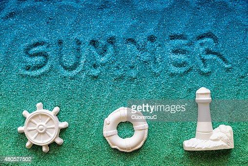 Im Sommer : Stock-Foto