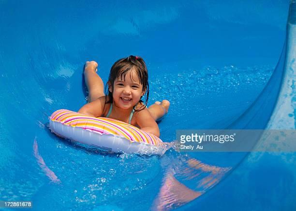 Sommer-Pool-Rutschen