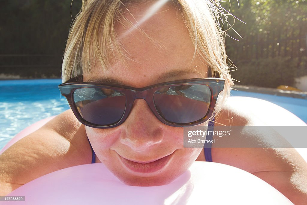Summer portrait of woman : Stock Photo