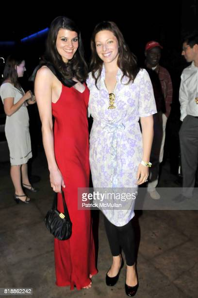 Summer Rayne Oakes and Kate Dillon attend RAINFOREST ACTION NETWORK's 25th Anniversary Benefit Hosted by CHRIS NOTH at Le Poisson Rouge on April 29...