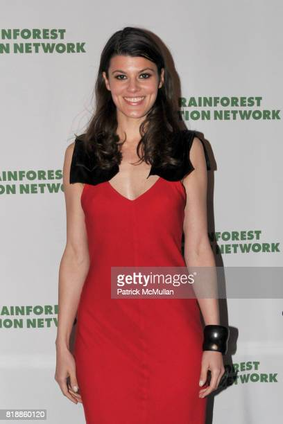 Summer Rayne Oakes attends RAINFOREST ACTION NETWORK's 25th Anniversary Benefit Hosted by CHRIS NOTH at Le Poisson Rouge on April 29 2010 in New York...