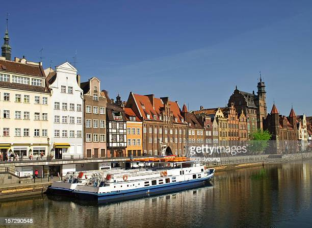 Summer Reflections in Gdansk Poland