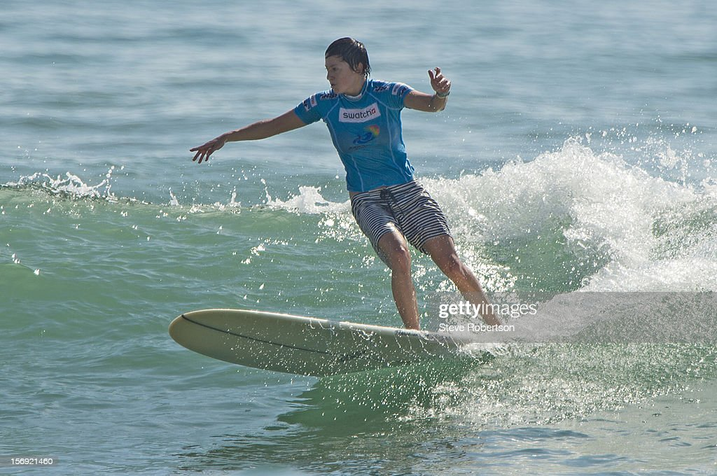 Summer Romero (USA/San Diego) placed = 3rd at the SWATCH Girls Pro China. Romero was defeated in an extremely close semi final by Hawaiian Kalia Moniz who then went on to win the event. -- on November 25, 2012 in Hainan Island, China.