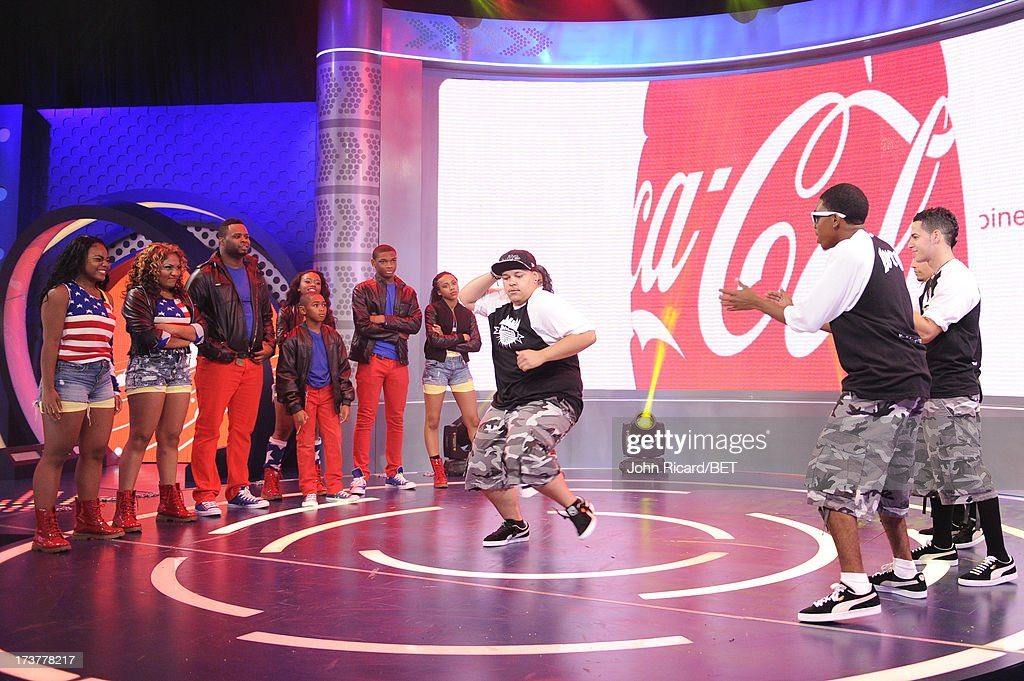 W. Summer Series Round 2 competitors Devastation Dance Crew and WTO Dance Crew battle at BET's 106 & Park at BET Studios on July 17, 2013 in New York City.