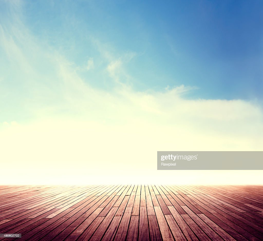 Summer Skyline Cloudscape Sunshine Outdoor Concept : Stock Photo
