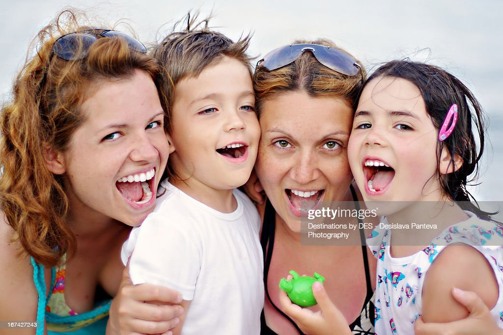 Summer smiles : Stock Photo