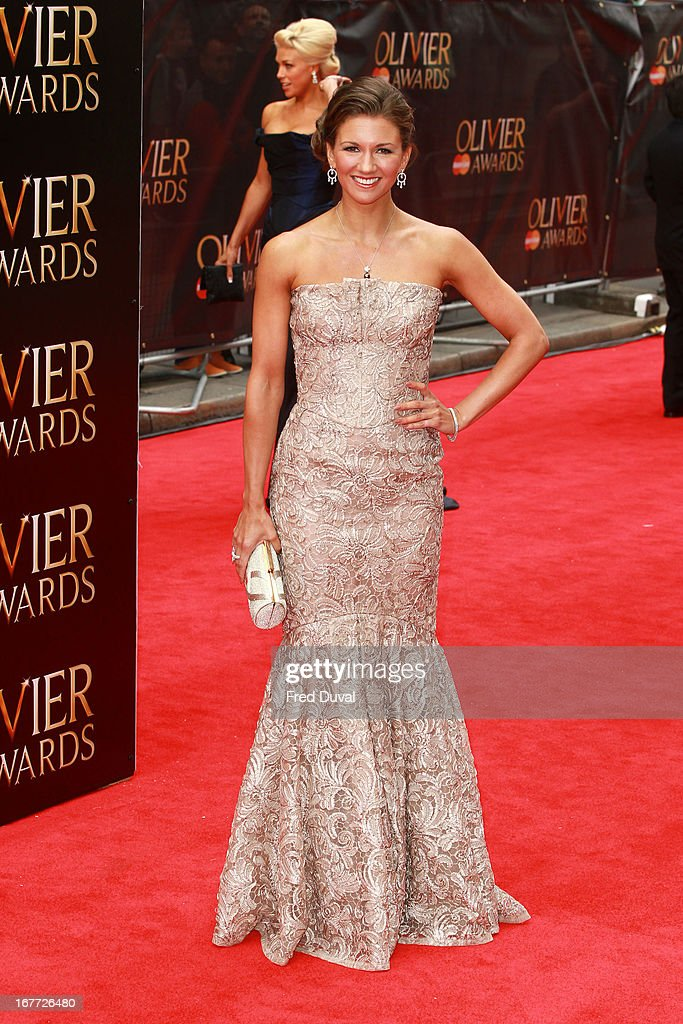 Summer Strallen attends The Laurence Olivier Awards at The Royal Opera House on April 28, 2013 in London, England.