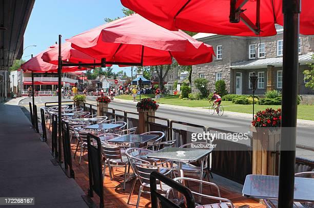 Summer Streetside Terrace