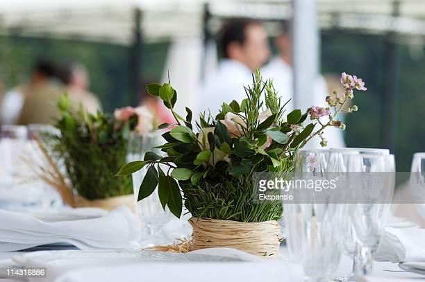 Sommer Tischdekoration
