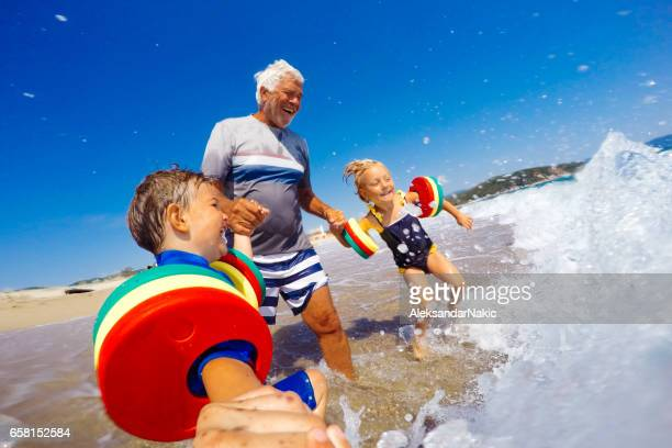 Summer vacation with grandpa