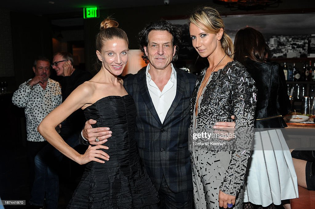 Summer Watson, Stephen Webster and Lady Victoria Hervey attend The 'Last Supper' Discussion hosted By Stephen Webster At Soho House at Soho House on November 8, 2013 in West Hollywood, California.