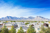 A view of Summerlin in Las Vegas. Summerlin is an affluent 22,500-acre master-planned community in the Las Vegas Valley. Nevada is a state in the Western, Mountain West, and Southwestern regions of th