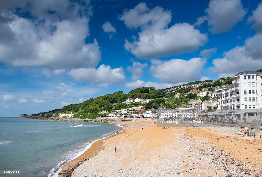 A Summers day in Ventnor, Isle of Wight : Stock Photo