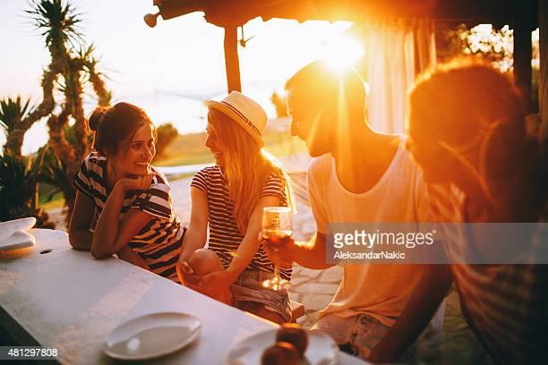 Sommer dinner-party