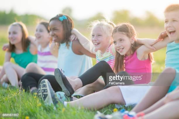 Sommerspaß mit Freunden