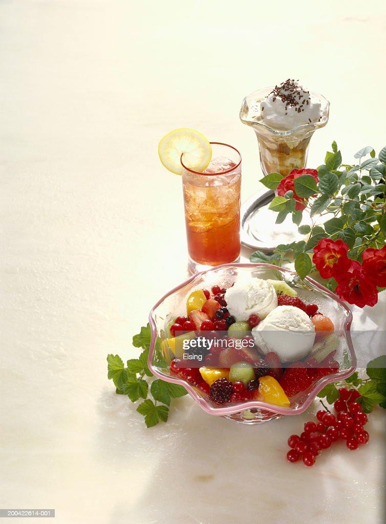 Summery Refreshments : Stock Photo