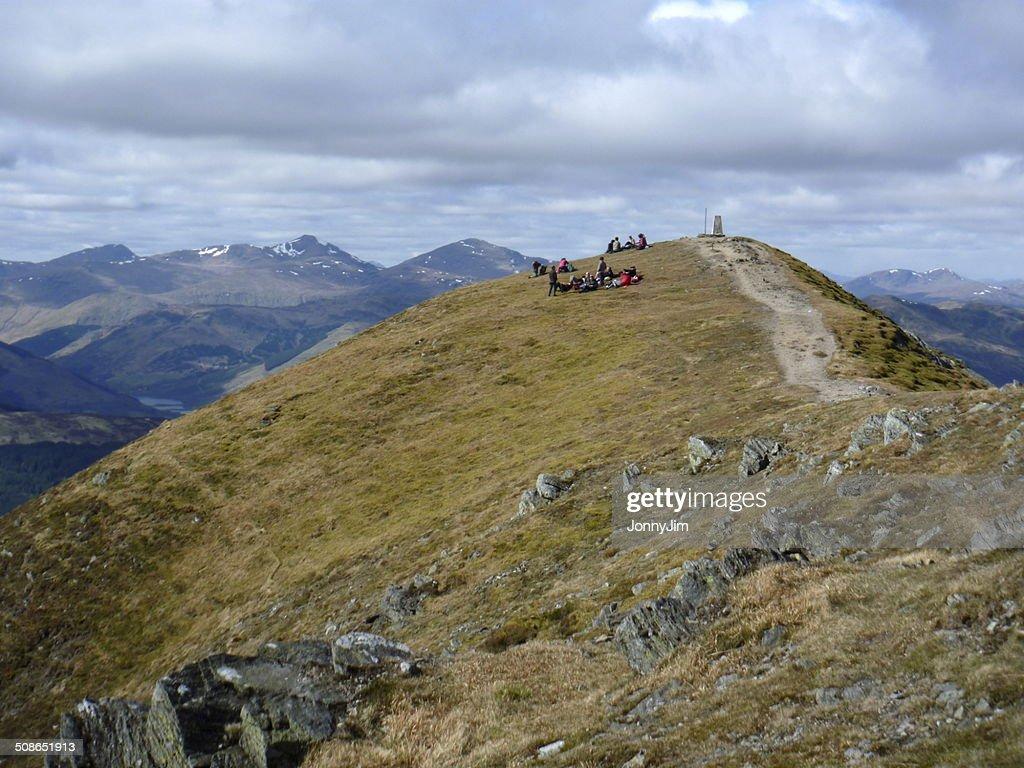 Summit Ben Vorlich Scotland : Stock Photo