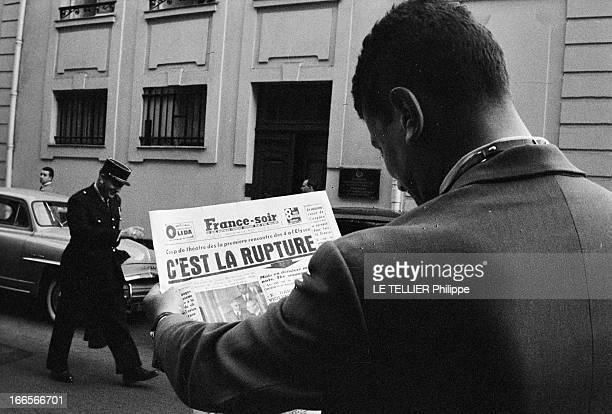 Summit Conference In Paris Paris le 18 mai 1960 Conférence au sommet entre les quatre pays administrateurs de Berlin Elle échoue suite à l'affaire de...