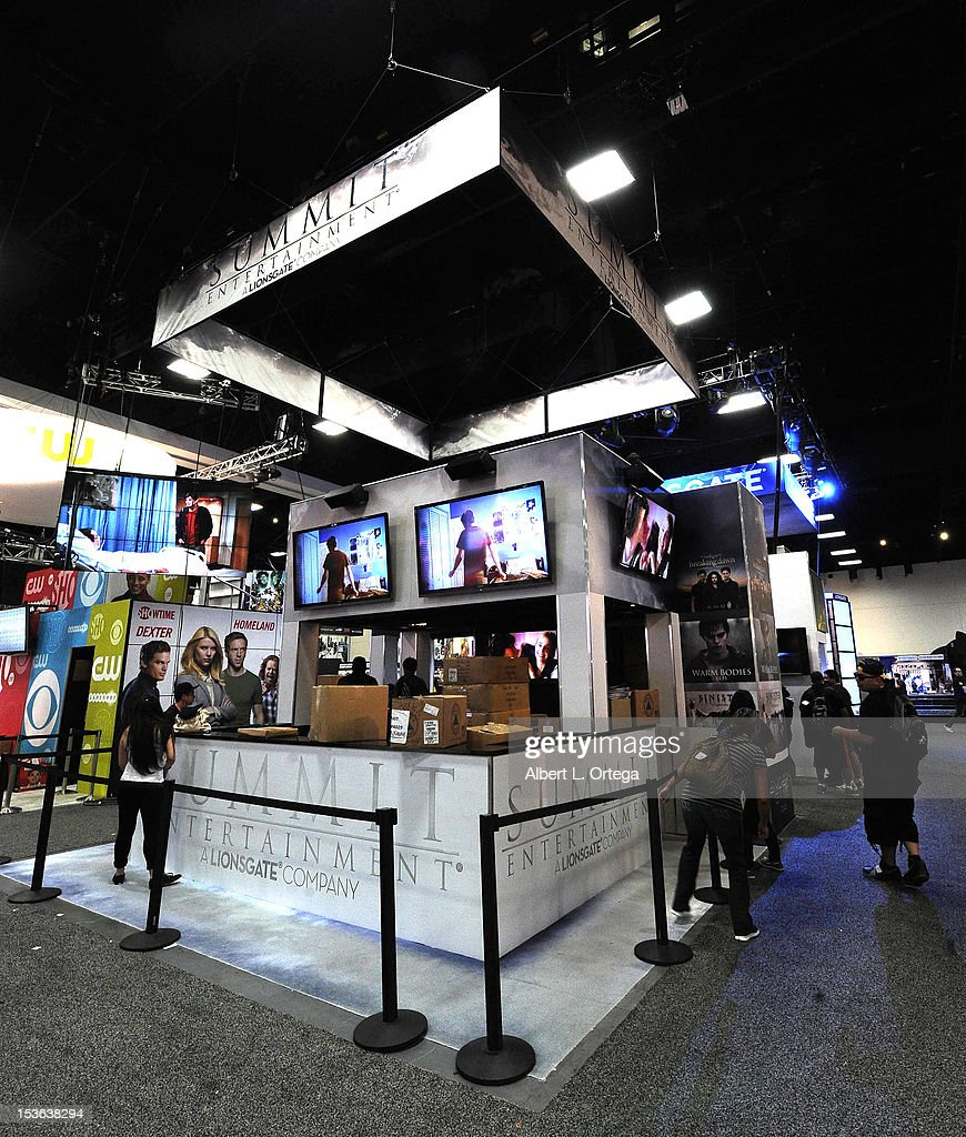 Summit Entertainment booth participates during day 3 of Comic-Con International 2012 held at San Diego Convention Center on July 14, 2012 in San Diego, California.